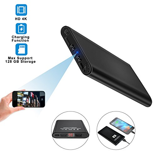 Wifi Hidden Spy Camera, Ruidla Mini Body Camera 1080P HD